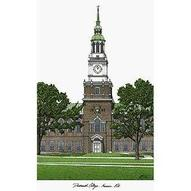 Campus Images NH999 Dartmouth College Lithograph: Sports &amp; Outdo...
