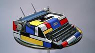 Kasbah Mod Mondrian Typewriter