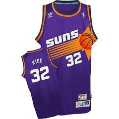 Phoenix Suns Jason Kidd Team Color Throwback Replica Premiere Je...