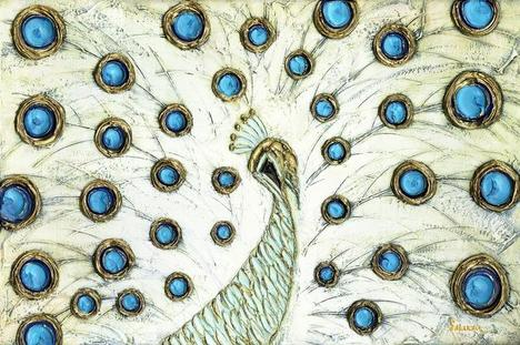 Peacock Art Prints by Susanna Shap - Shop Canvas and Framed Wall...