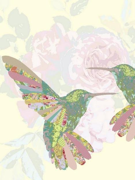 Hummingbirds Art Prints by Clare Shields - Shop Canvas and Framed...