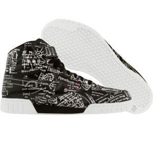 Reebok EX-O-FIT Plus High Affiliart - Basquiat (Tuxedo) - Shoes -...
