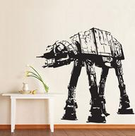 Star Wars ATAT Walker vinyl wall decal WD0306 by dinaamon on Ets...