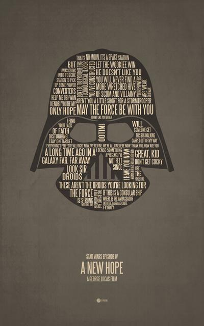 Star Wars Episode IV Art Print by Jerod Gibson