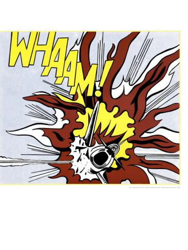Whaam! (panel 2 of 2) Poster by Roy Lichtenstein at AllPosters.c...