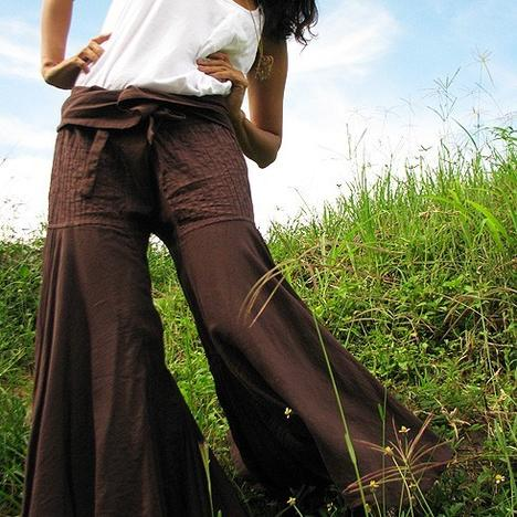 Enchanted pants brownSM LXL by cocoricooo on Etsy