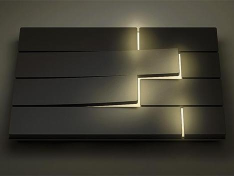 Piano Light Switch by David Dos Santos