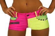 Neon Hot Shorts
