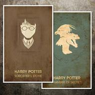 Vintage Harry Potter Movie Posters