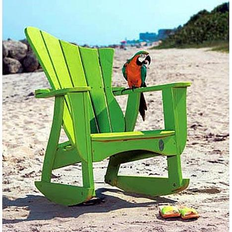 Uwharrie Chair Wave Left-Facing Rocker