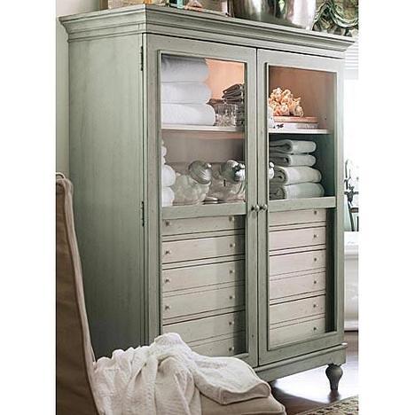 Paula Deen Sea Oat The Bag Lady's Cabinet
