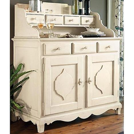 Paula Deen Linen Low Country Sideboard with Hutch