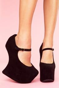 Night Walk Platform in Shoes at Nasty Gal
