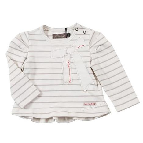 Dressy Tee Shirt With Bow Detail By Jean Bourget