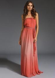 GYPSY 05 Belle Wrapped Maxi in Coral at Revolve Clothing - Free ...