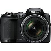 Nikon Coolpix L120 Digital Camera, Black | Staples