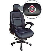 Wild Sports Leather Executive Chair Ohio State Buckeyes | Staple...