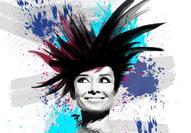 """AUDReY MAD DO"" Digital art art prints and posters by Daniel Hol..."