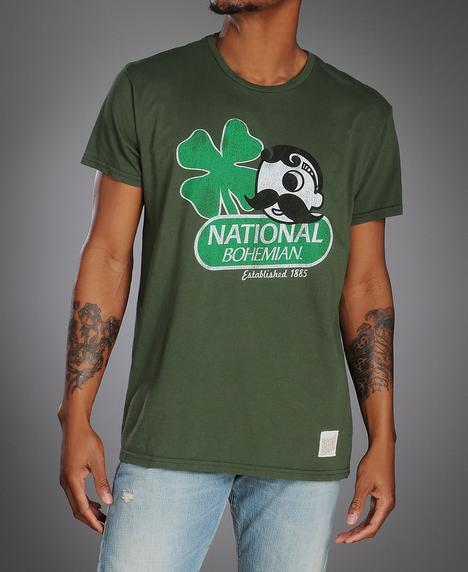 Original Retro Brand Saint Patty's Natty Boh Tee