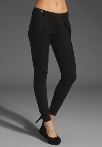 JNBY Ankle Cuff Trouser Pant in Black at Revolve Clothing - Free...