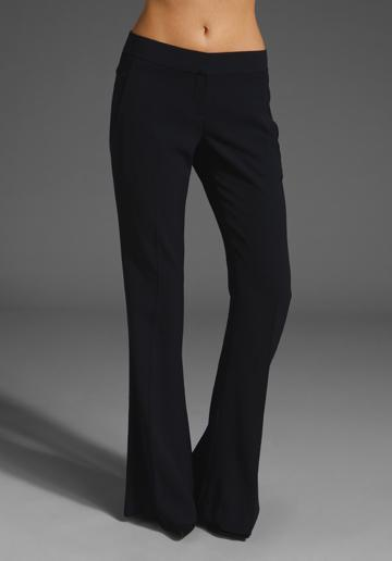THEORY Jeldra Hydric Pant in Navy at Revolve Clothing - Free Shi...