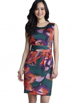 Dresses for Women: Wrap Skirt Dress: The Limited