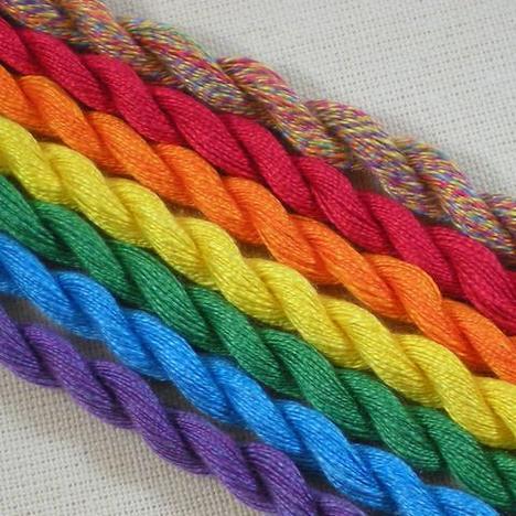Petite Rainbow's End Silk Palette Set