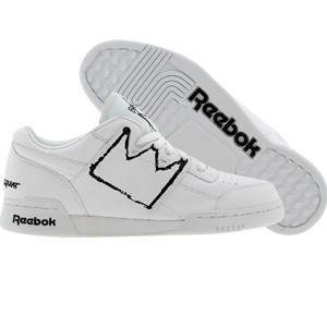 Reebok Workout Plus Affiliart - Basquiat (white / black / basquiat)...
