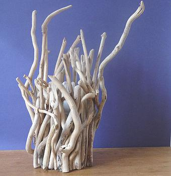 driftwood twig lamp by nautilus driftwood design | notonthehighs...