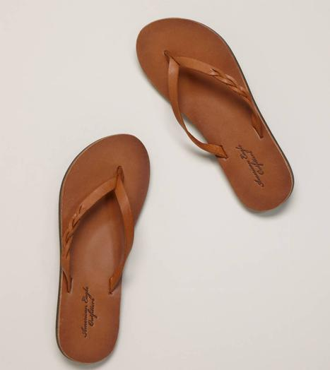 AEO Braided Flip-Flop - American Eagle Outfitters