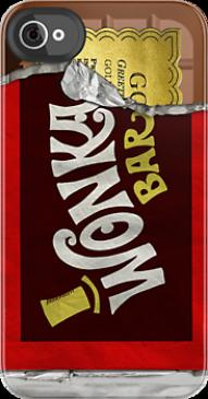 &quot;Wonka Bar Iphone Case&quot; iPhone &amp; iPod Cases by cdoty | RedBubble...
