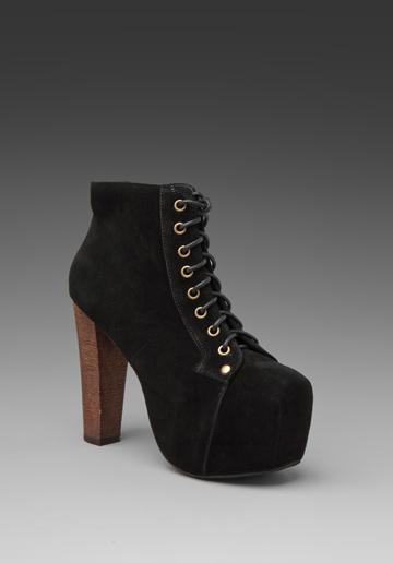JEFFREY CAMPBELL Lita in Black Suede at Revolve Clothing - Free ...