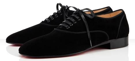 Christian Louboutin Alfred Flat Shoes  - Black Suede