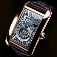 Tank Américaine Tourbillon Volant by Cartier