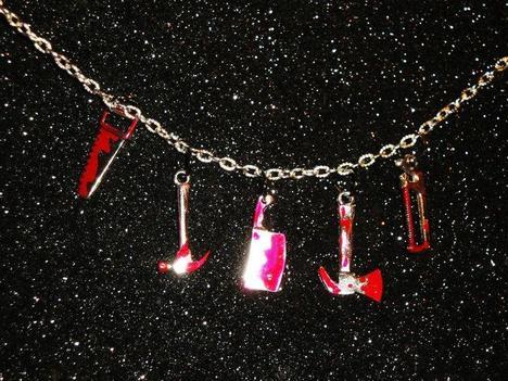 """REDRUM"" Necklace"