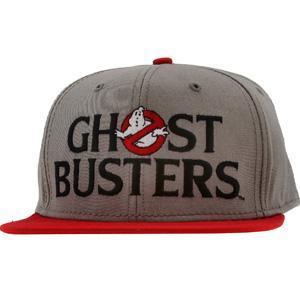 Ghostbusters Logo Snapback Cap (grey) - Caps - 79036GSB000PP00 |...