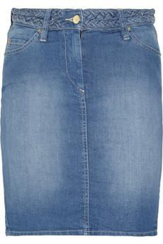Isabel Marant | Lea stretch-denim skirt | NET-A-PORTER.COM