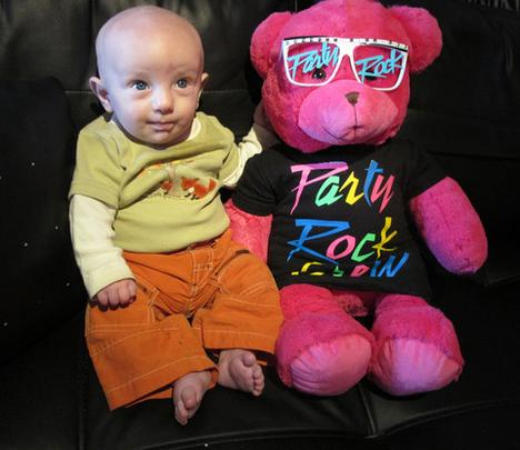 Party Rock Teddy Bear