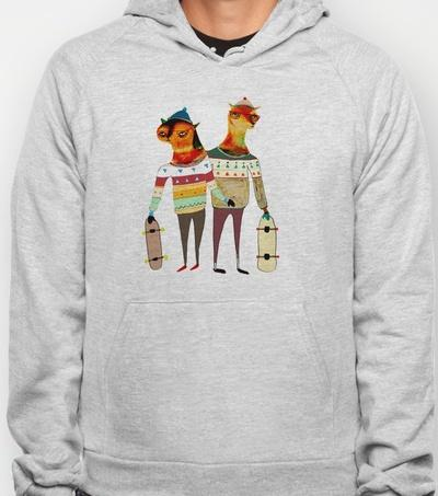 The Skaters Hoody by Ashley Percival | Society6