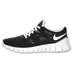 Nike Free Run+ 2 Women's Running Shoes | FinishLine.com | Black/...
