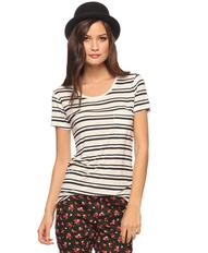 Striped Longline Tee | FOREVER21 - 2005757763
