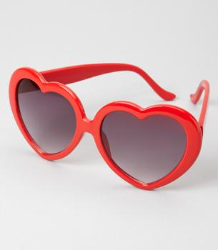 Fredflare.com - Heart Shaped Sunglasses - Sweetheart Sunglasses