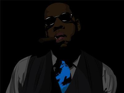 Jay-Z Art Print by Shyam13 | Society6