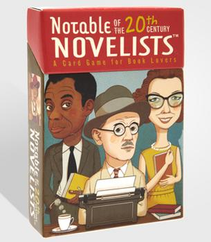 FredFlare.com - Notable Novelists Card Game - 20th Century Novel...