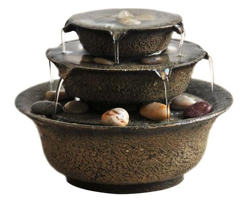 EnviraScape™ Serenity Bowls Relaxation Fountain
