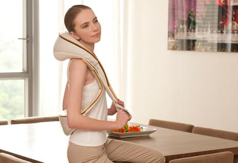 Neck/Belt Massager with Heat