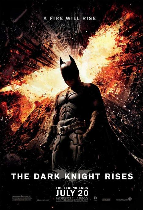 The Dark Knight Rises - 11 x 17 Movie Poster - Style P