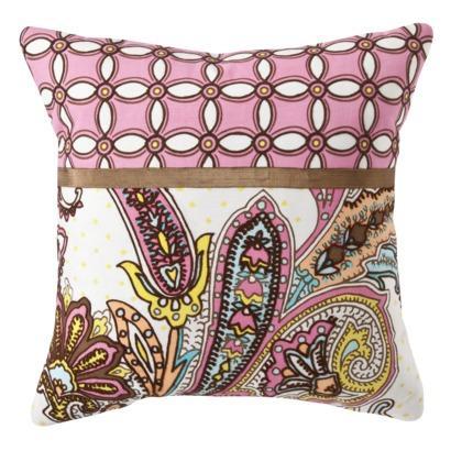 Xhilaration Paisley Pillow - Pink : Target