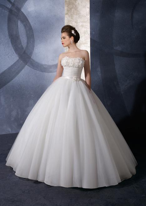 Dazzling White Ball Gown Scoop Neckline Wedding Dress-SinoSpecia...
