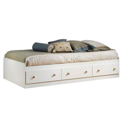 White and Natural Maple Mates Bed : Target